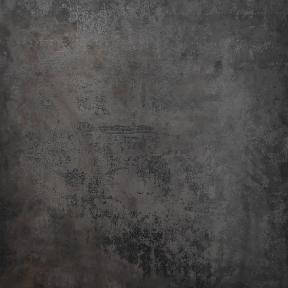 M GVT Indian Series M6060015 Kessel Black Polished Glazed Vetrified Tiles - Matt