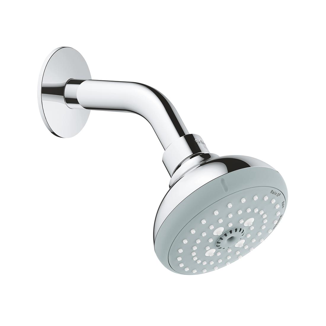 Grohe 26088000 Tempesta 100 Head Shower Set 3 Sprays