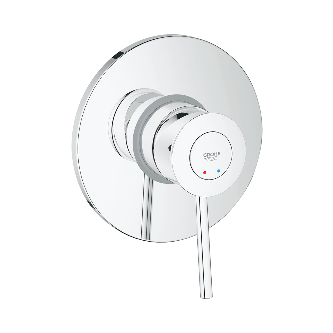 Grohe 29048000 Bauclassic Single-Lever Shower Mixer