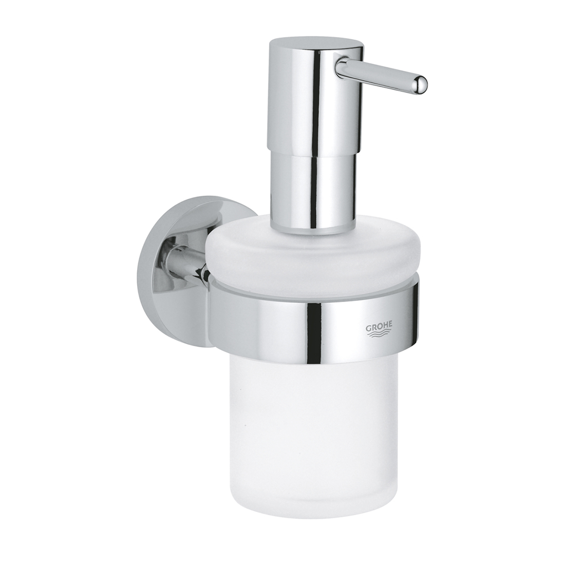 Grohe 40448001 Essentials Soap Dispenser with Holder