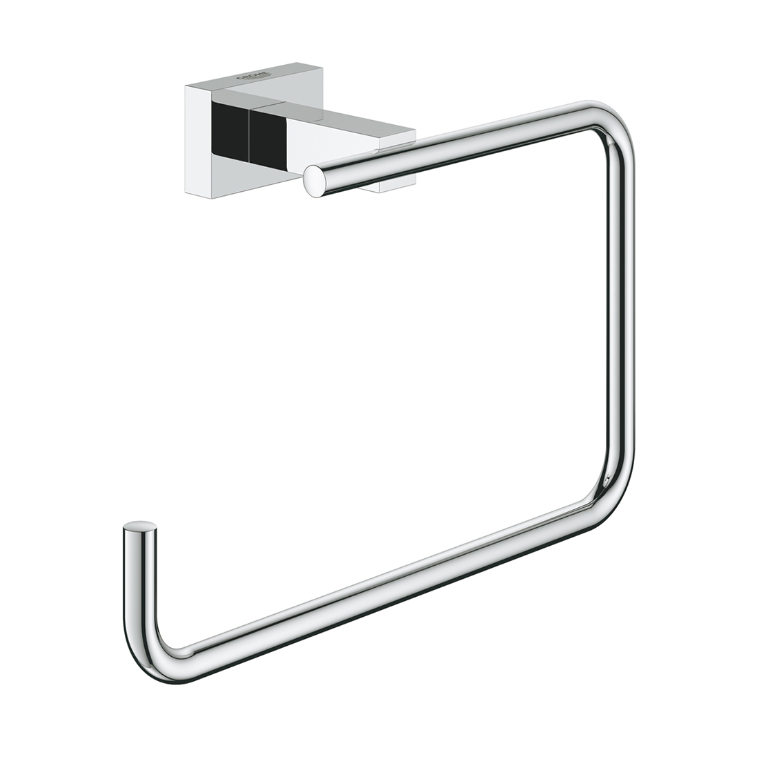 Grohe 40510001 Essentials Cube Towel Ring
