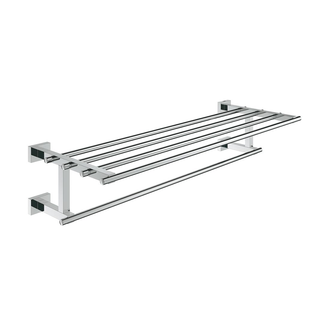 Grohe 40512001 Essentials Cube Multi-Towel Rack