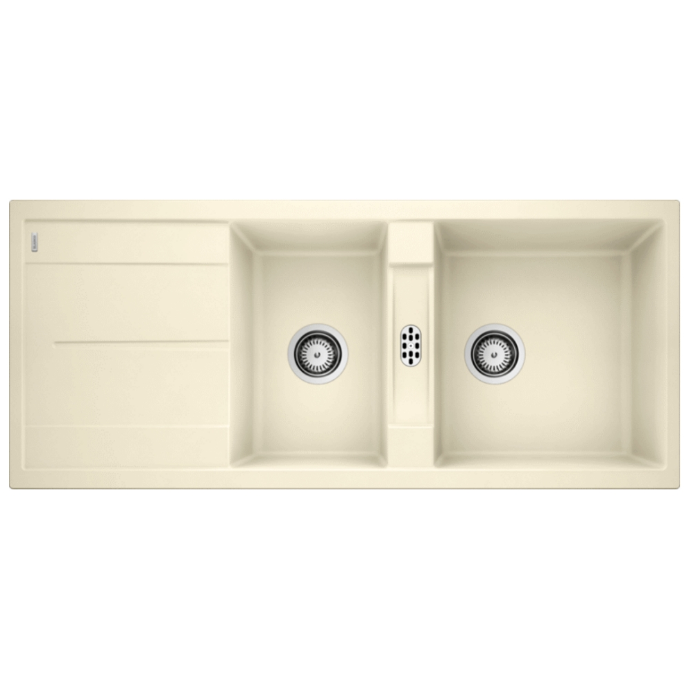Blanco METRA 8S Double Bowl Sink With Drain Board  - 56570640