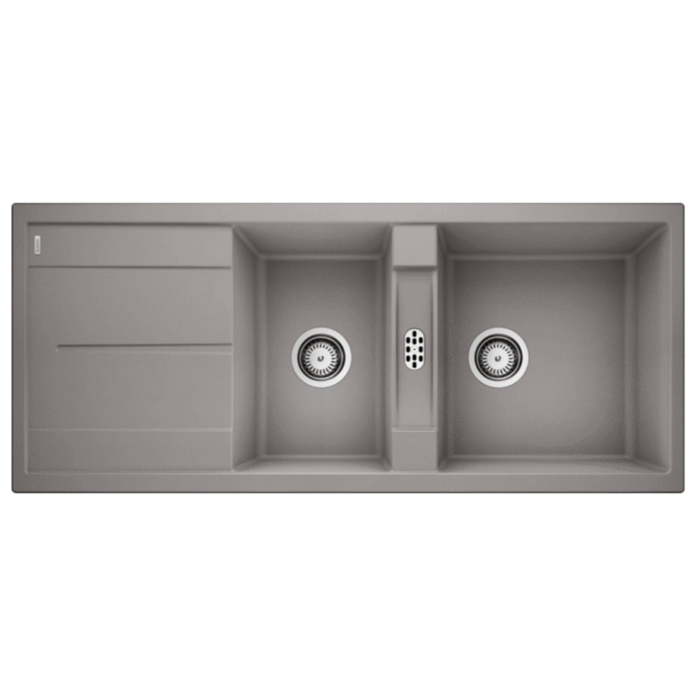 Blanco METRA 8S Double Bowl Sink With Drain Board  - 56570940