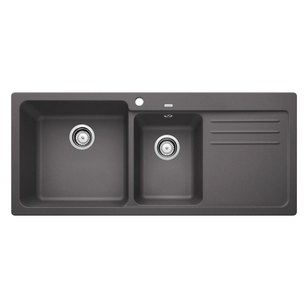 Blanco NAYA 8S Double Bowl Sink With Drain Board  - 56571550