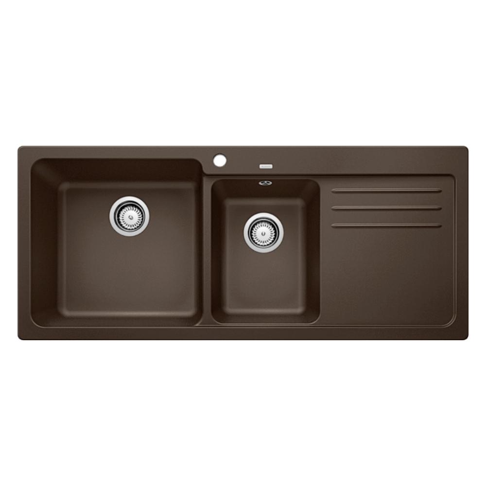 Blanco NAYA 8S Double Bowl Sink With Drain Board  - 56571850