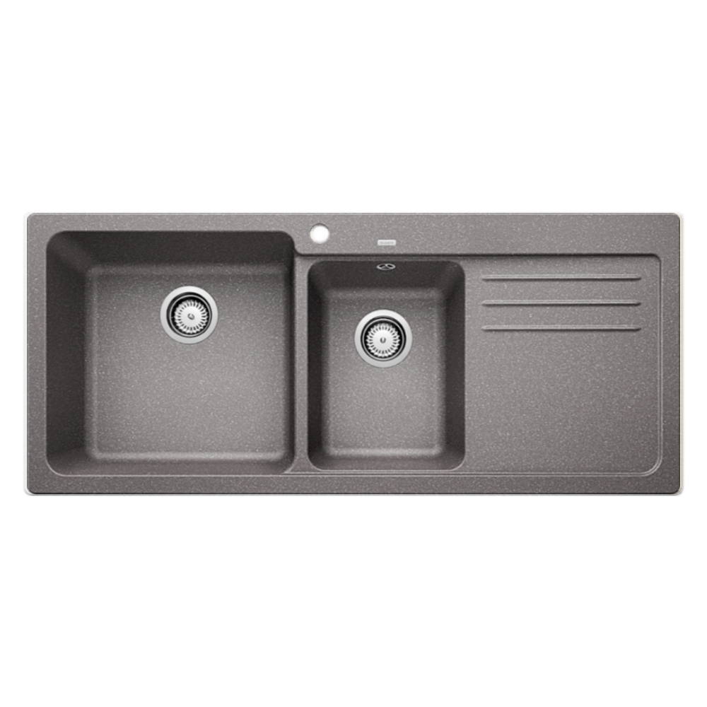 Blanco NAYA 8S Double Bowl Sink With Drain Board  - 56571950