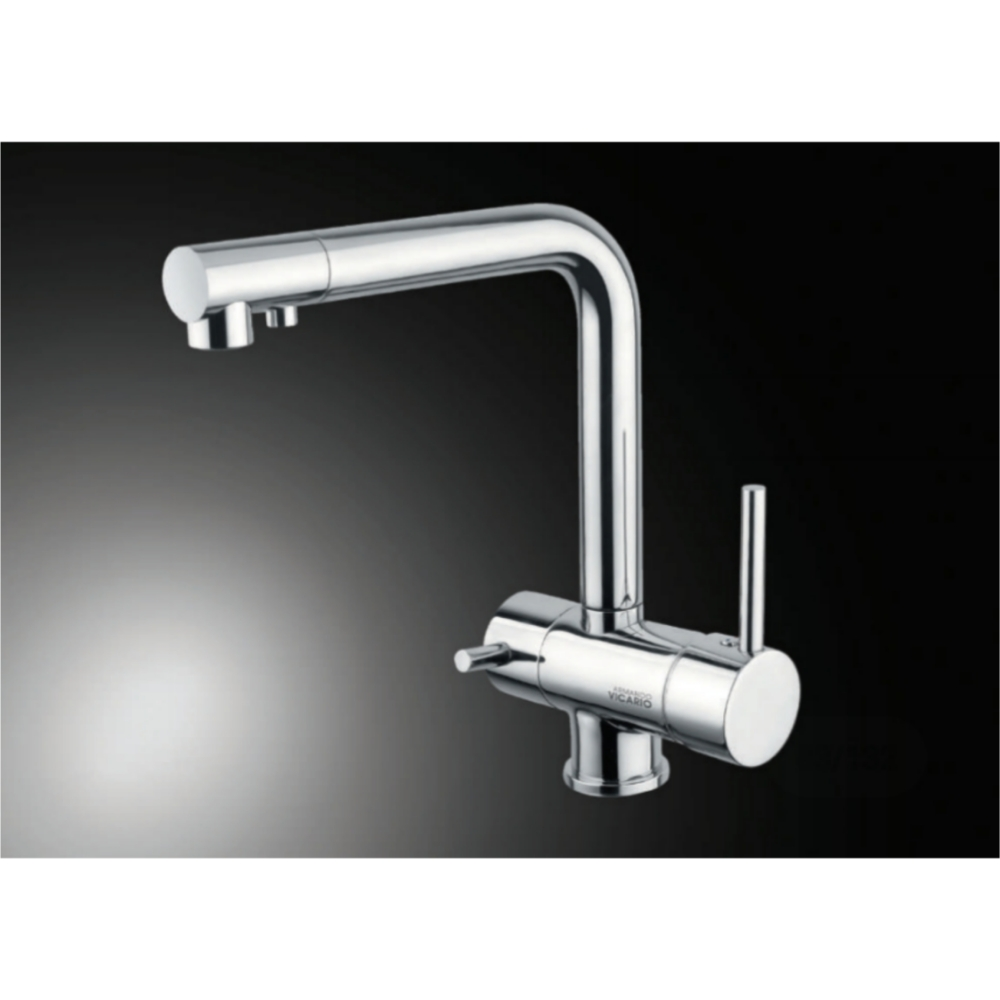 Hefele BE PURE Deck Mounted Sink Mixer-Silver -56624220