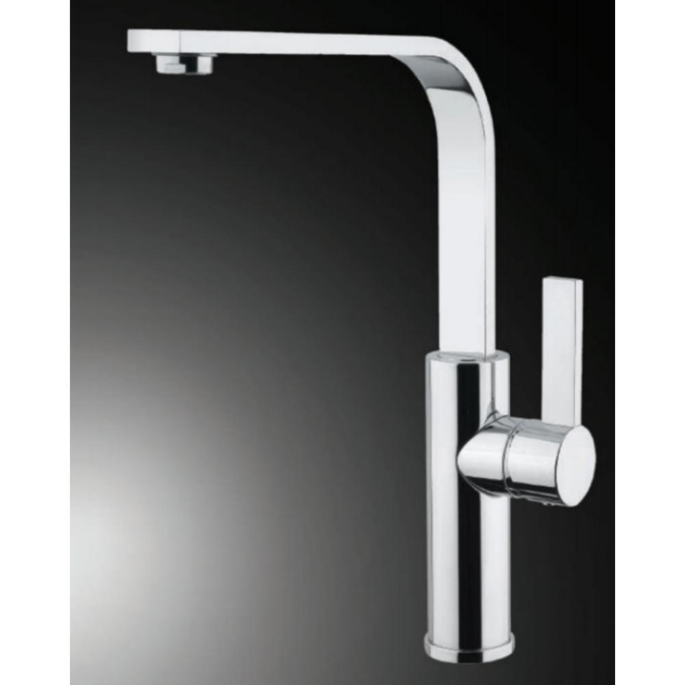 Hefele SOLO Deck Mounted Sink Mixer-Silver -56624240