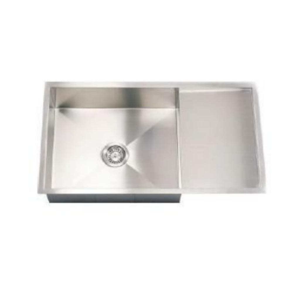 Hafele Argento ENRICA S Single Bowl Sink With Drain Board  - 56741020