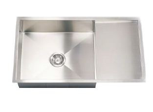 Hafele Argento ENRICA SL Single Bowl Sink With Drain Board  - 56741021