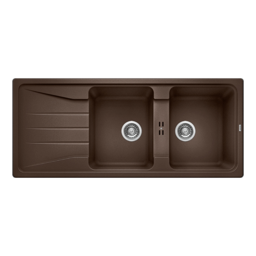 Blanco SONA 8S Double Bowl Sink With Drain Board  - 56770800