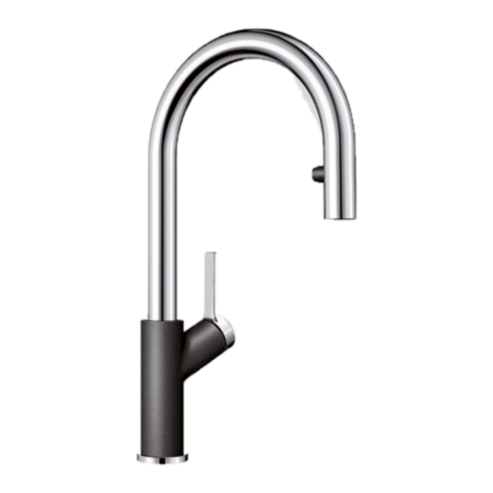 Blanco CARENA S Deck Mounted Kitchen Mixer with Pullout -56907340