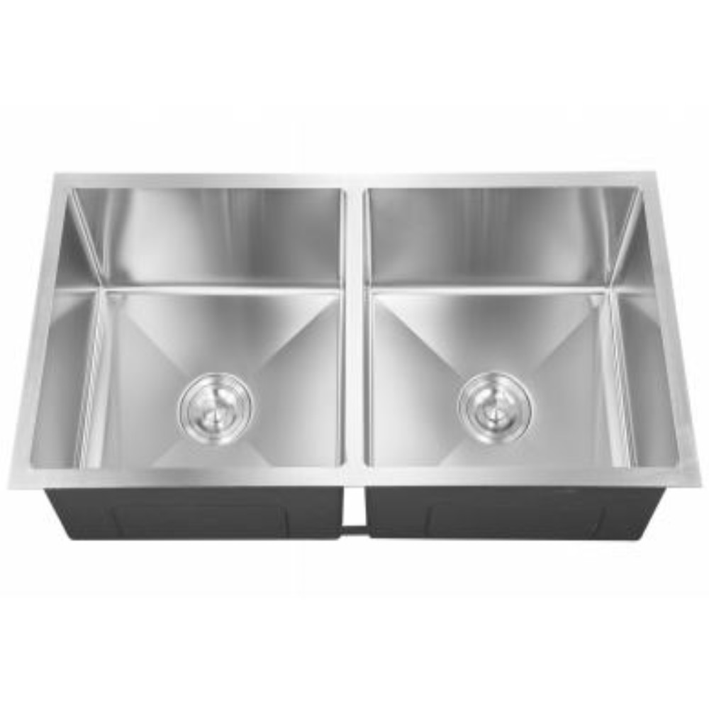 HOOTIC EXOTIC OPTRA 40x20x9 SS304 Satin Double Bowl Sink