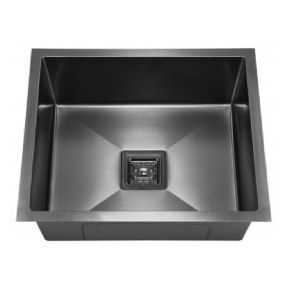 HOOTIC PEARL 20x17x8 SS304 Black Single Bowl Sink