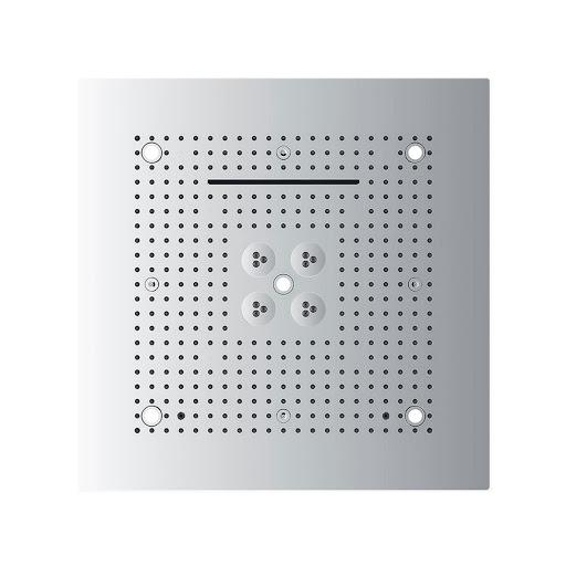 Kerovit KA600001-5 Four Function Over Head Rain Shower With Led Lighting System