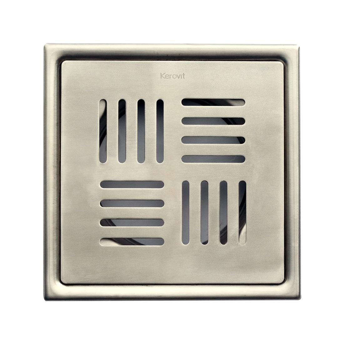Kerovit KA640001 Stainless Steel Floor Drainer