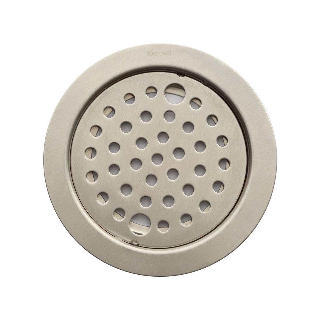 Kerovit KA640004 Stainless Steel Floor Drainer