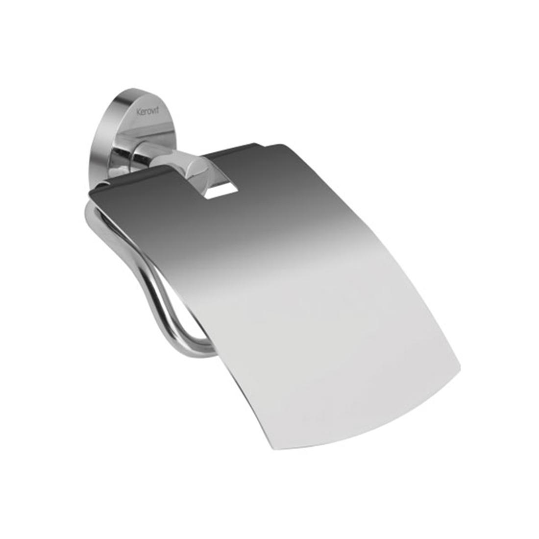 Kerovit KA980009 Oval Range Toilet Paper Holder With Flap