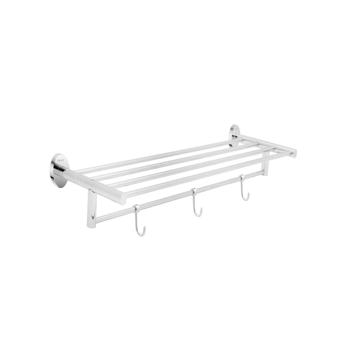 Kerovit KA980010 Oval Range Towel Rack With Three Hooks
