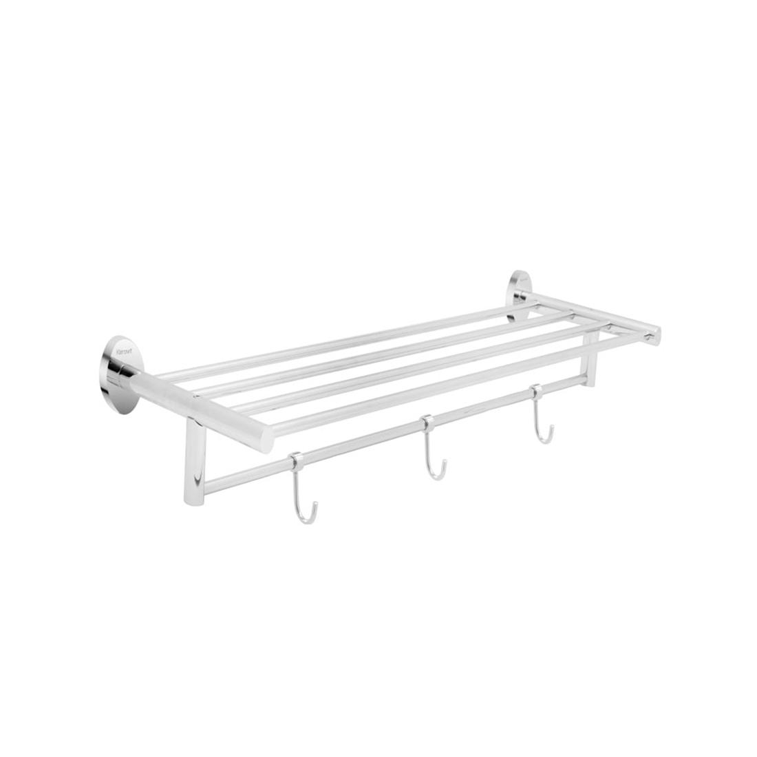 Kerovit KA980011 Oval Range Towel Rack With Three Hooks