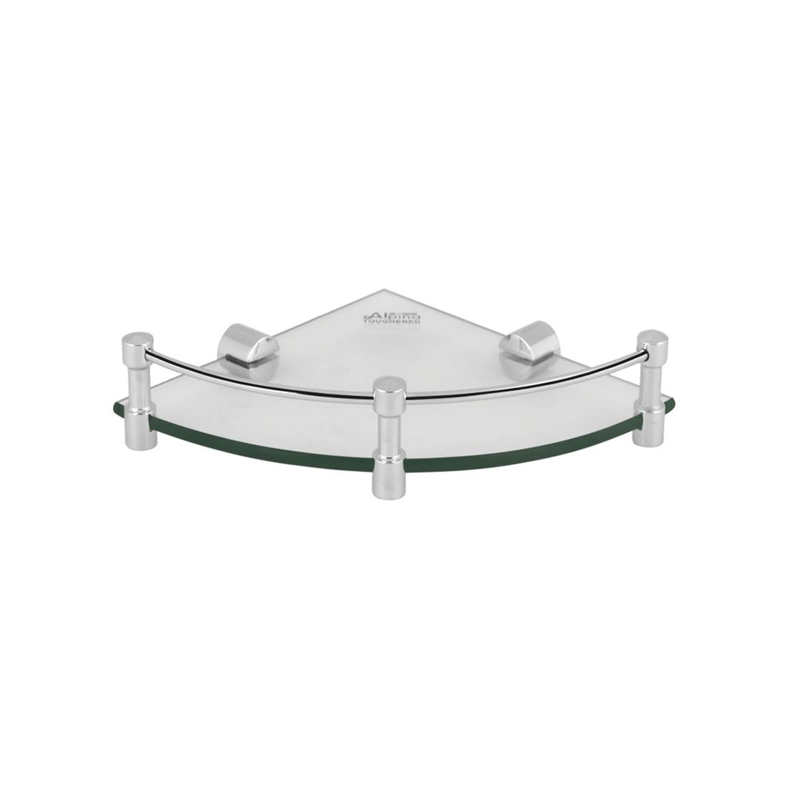 Kerovit KA980012 Oval Range Glass Corner Shelf