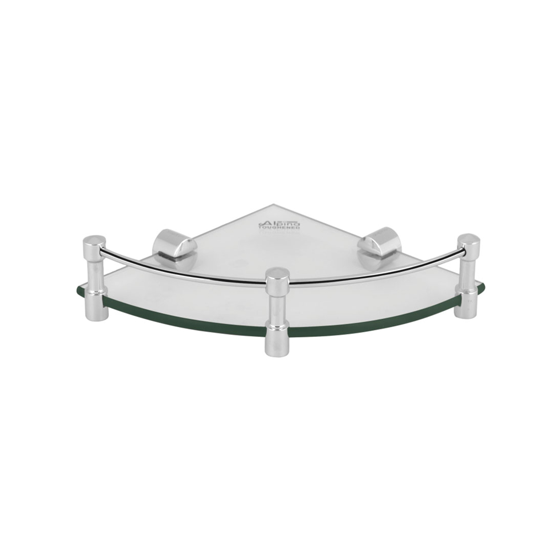 Kerovit KA980013 Oval Range Glass Corner Shelf