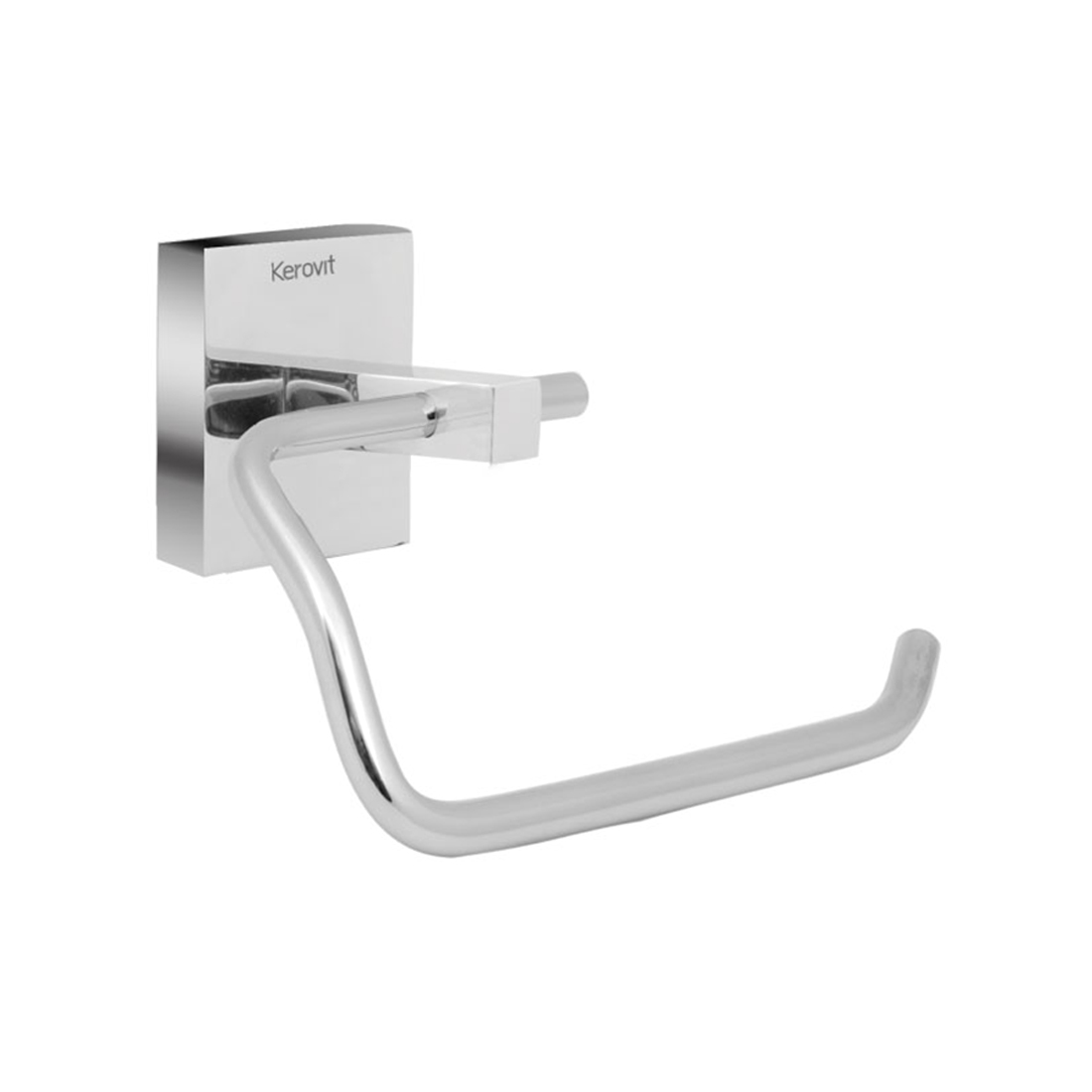 Kerovit KA990008 Square Range Toilet Paper Holder Without Flap