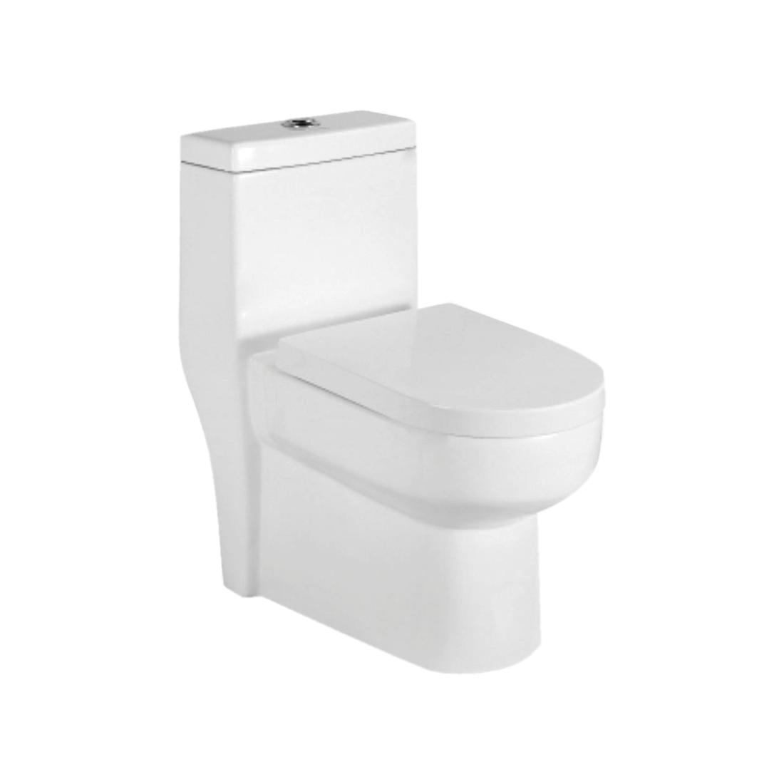 Kerovit Gazebo KB09018 Siphonic Single Piece European Rimfree Water Closet With Seat Cover