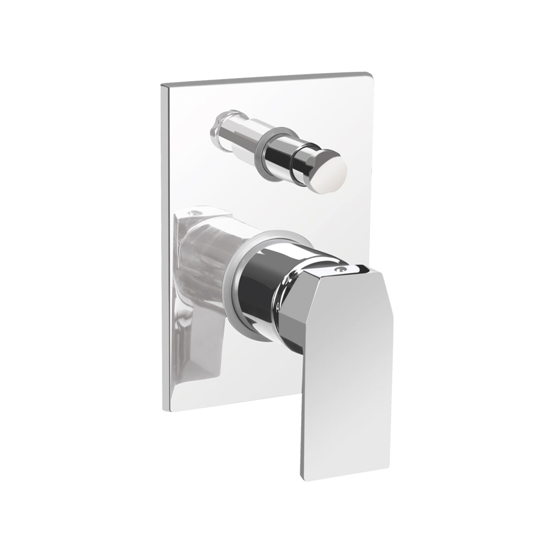 Kerovit Qua KB1011014 Single Lever 2-Inlet Concealed Bath and Shower Mixer Trim