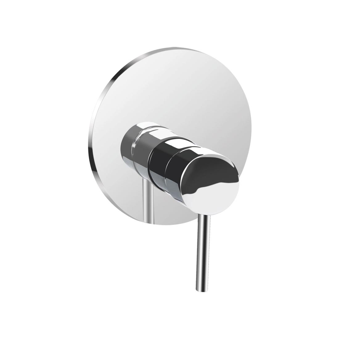 Kerovit Nucleus KB111015 Single Lever 2-Inlet Concealed Shower Mixer Trim
