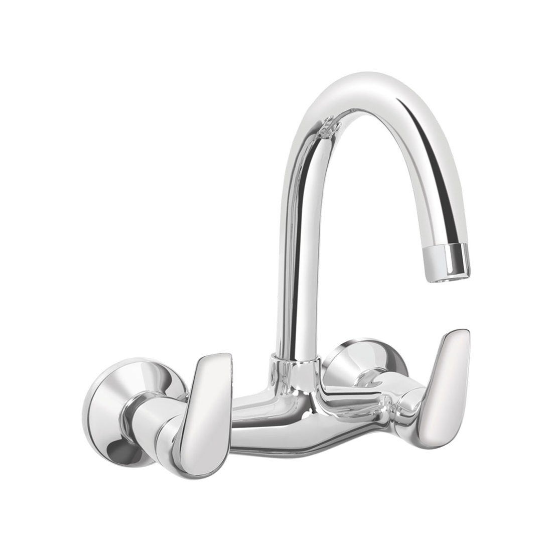 Kerovit Slope KB1311024 Sink Mixer With Swivel Spout and Flange