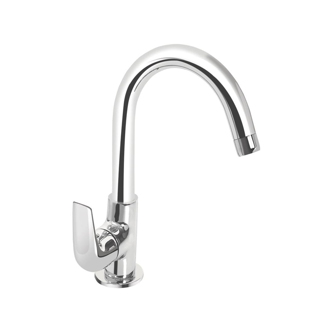 Kerovit Slope KB1311028 Sink Cock With Swivel Spout