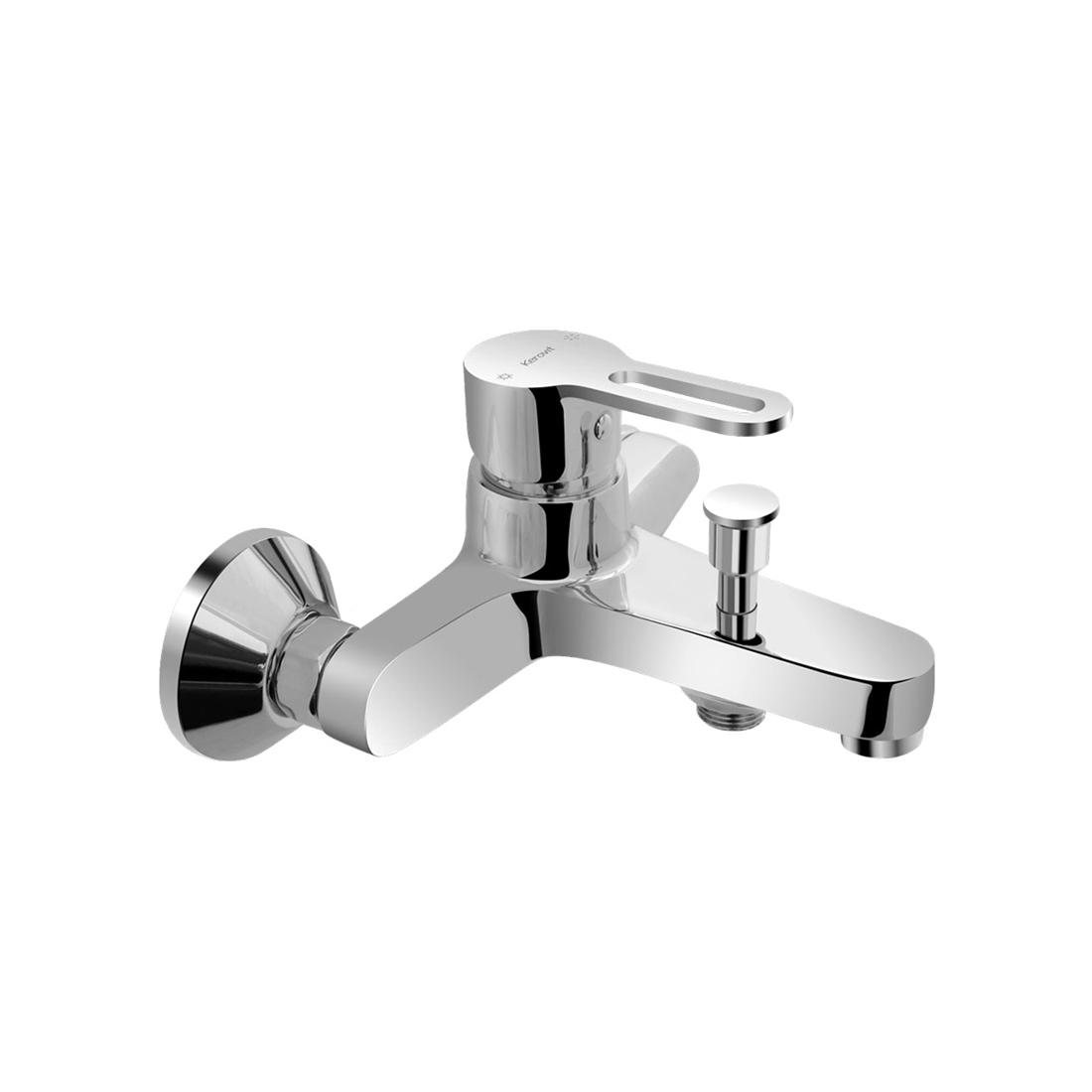 Kerovit Curve KB1711044 Single Lever Bath and Shower Mixer With Hand Shower Arrangement