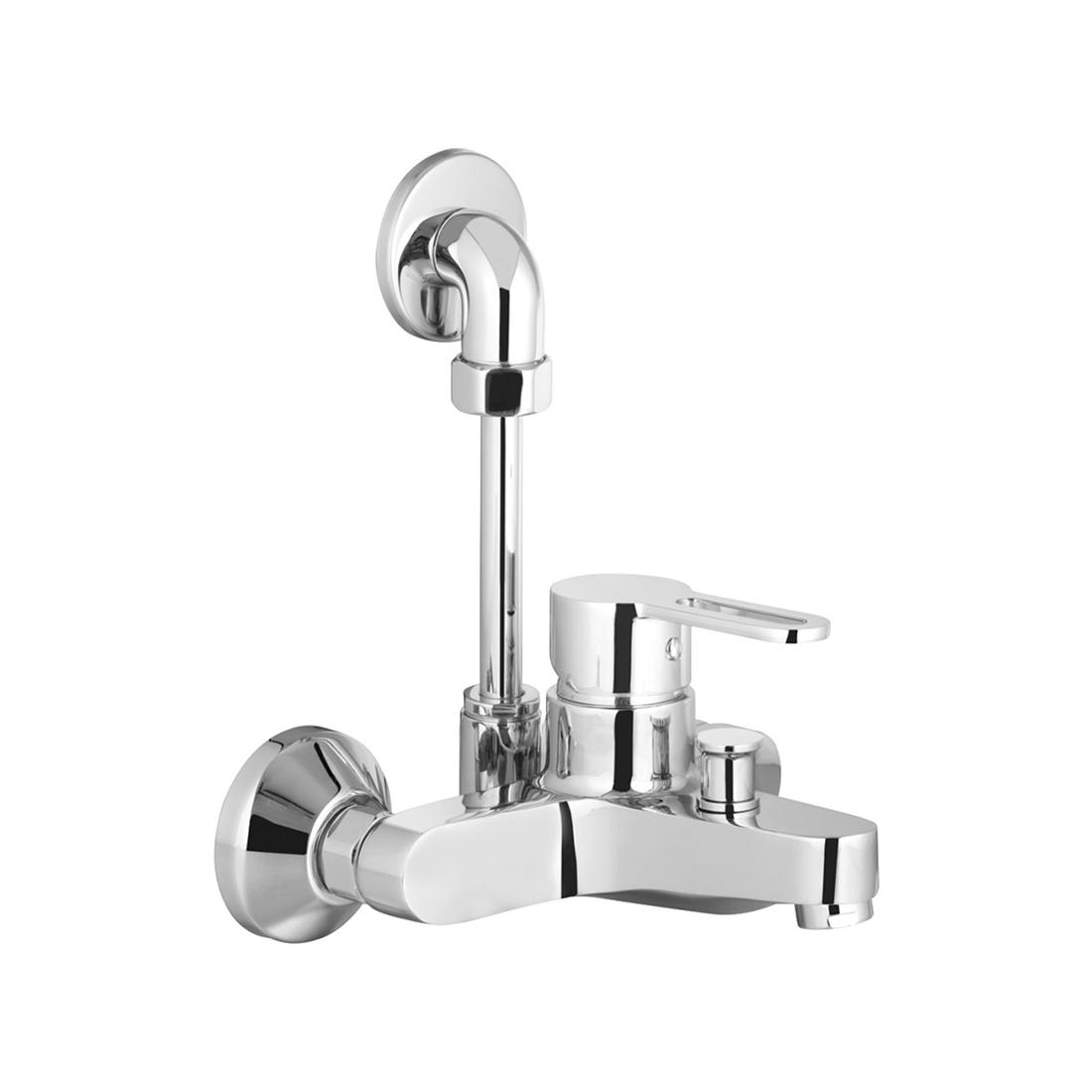Kerovit Curve KB1711045 Single Lever Bath and Shower Mixer With Over Head Shower Arrangement