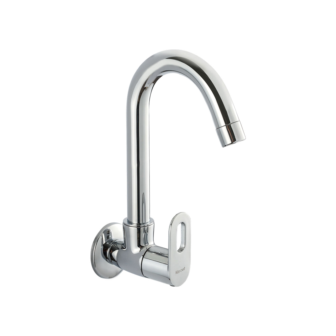 Kerovit Trendy KB2111025 Sink Cock With Swivel Spout and Flange