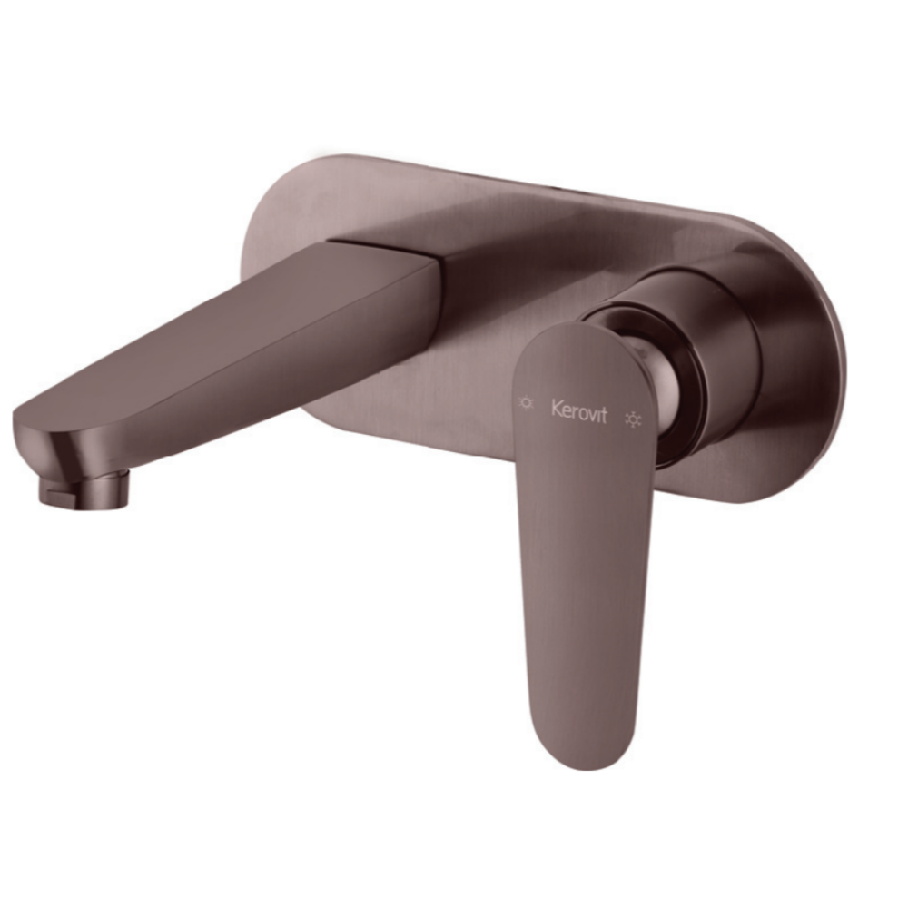 Aurum Arius KB2311023-GMP Concealed Single Lever Wall Mounted Basin Mixer Trims (Compatible With KB2311022-CP)