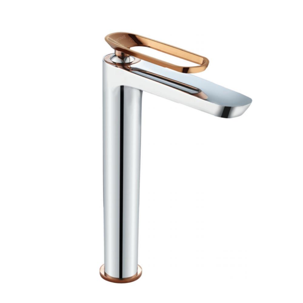 Aurum Fluer KB2411011-ND-CRG Single lever tall basin mixer without pop-up
