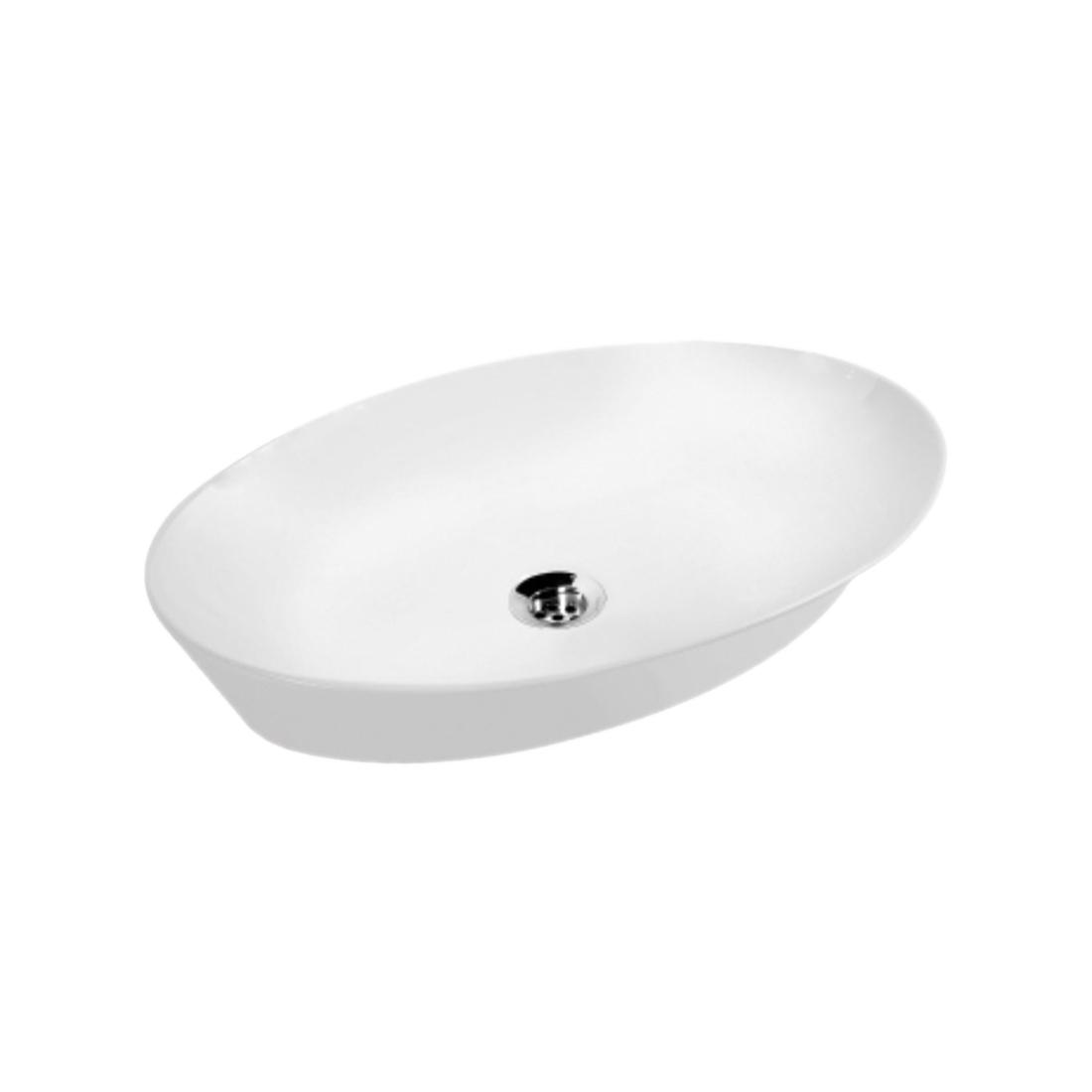 Kerovit Myra KB284 Thin Rim Counter Top Wash Basin