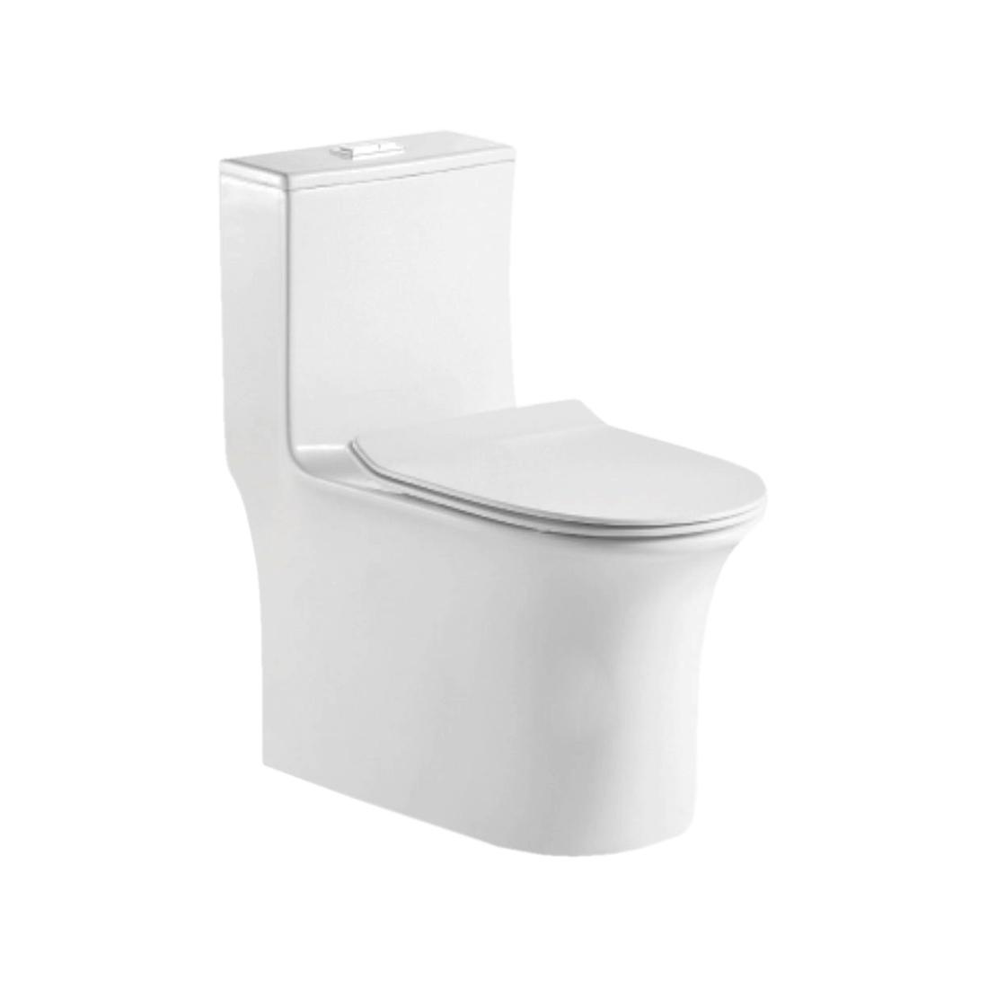 Kerovit Vita KB3027 Siphonic Single Piece European Water Closet With Seat Cover