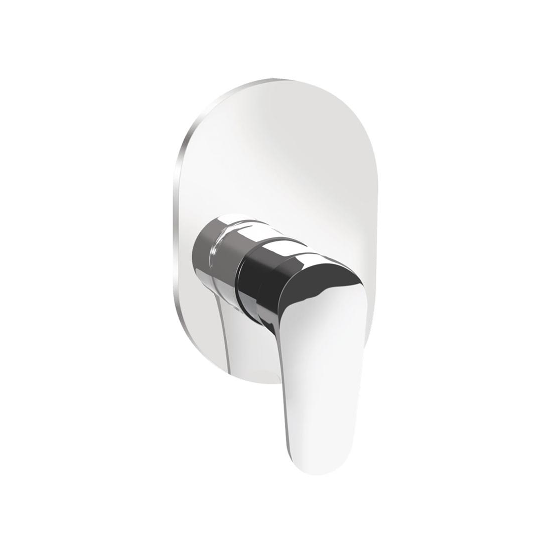 Kerovit Hydrus KB411015 Single Lever 2-Inlet Concealed Shower Mixer Trim