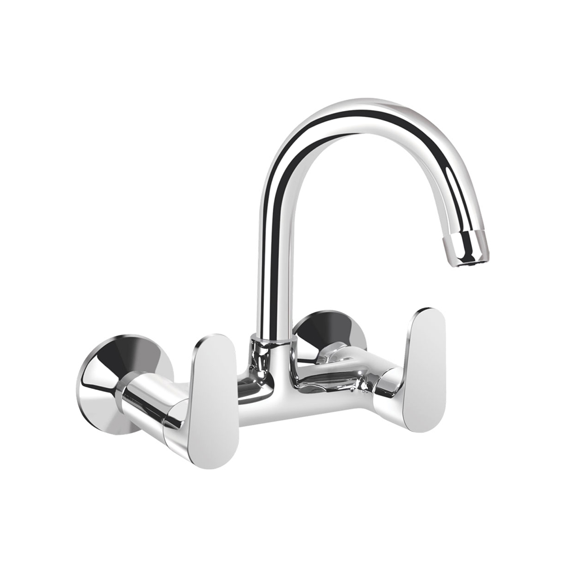 Kerovit Hydrus KB411024 Sink Mixer With Swivel Spout and Flange
