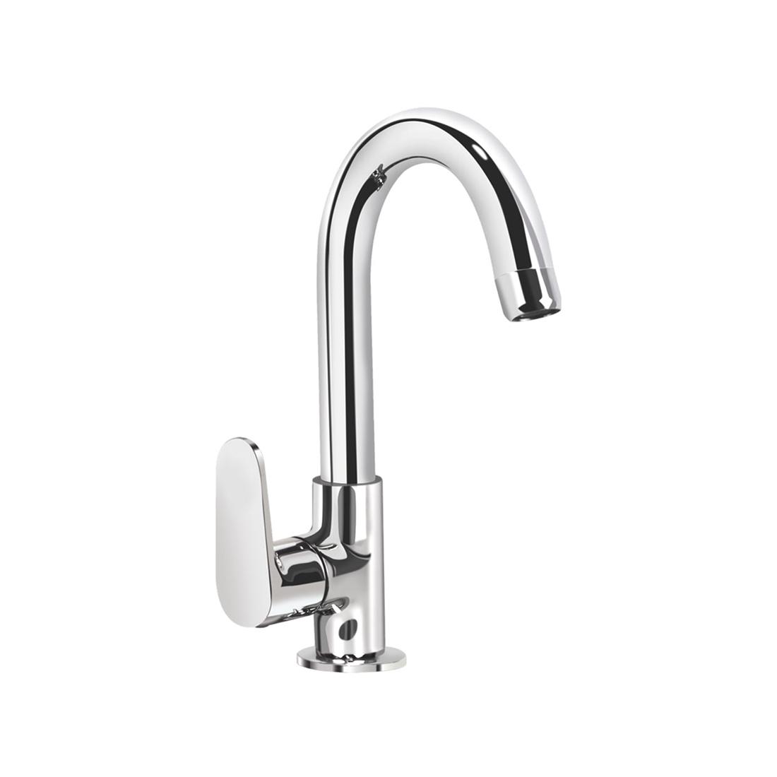 Kerovit Hydrus KB411028 Sink Cock With Swivel Spout