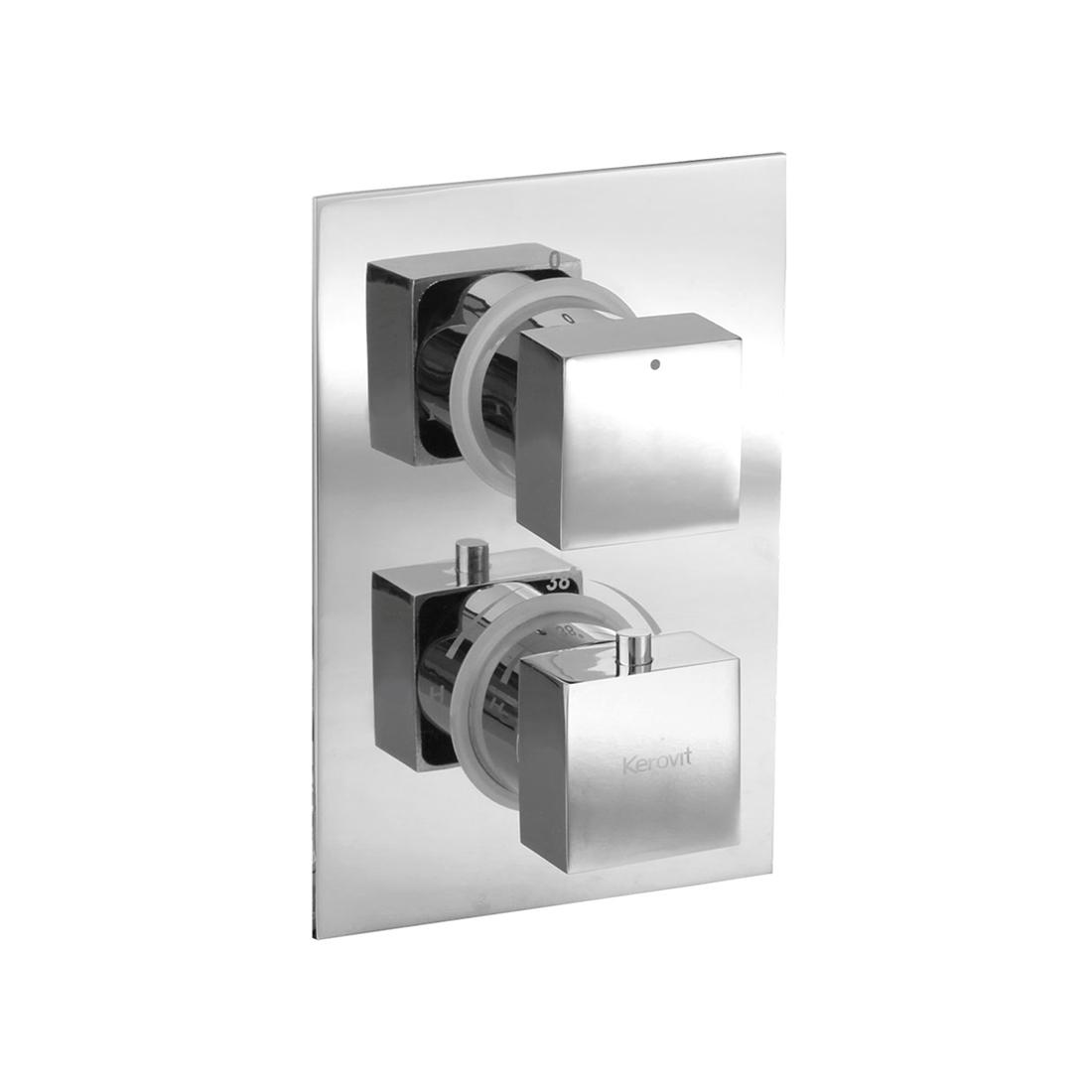 Kerovit KBTHS002 Concealed Hi-Flow Thermostatic Bath and Shower Mixer