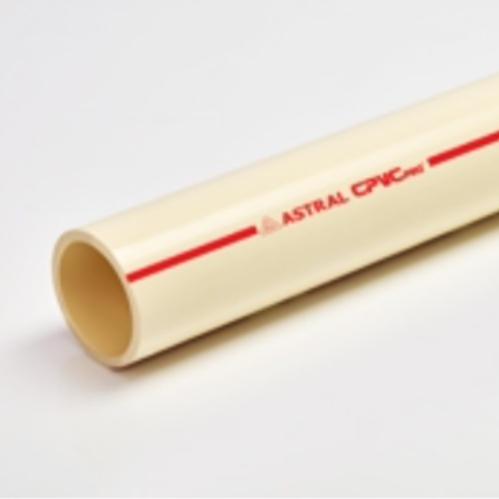 Ast  Cpvc Pro Pipe (Sch-40) 65mm 2 1/2''  - 3 Mtr